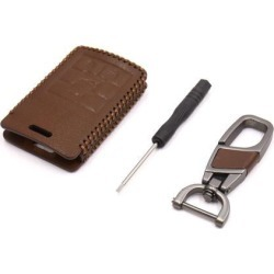 Brown Faux Leather Car 4 Button Remote Key Cover Holder Case for Cadillac found on Bargain Bro Philippines from Newegg Canada for $17.53