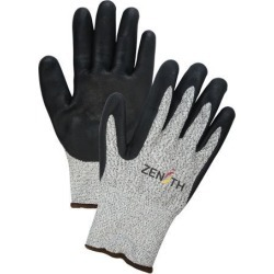 Zenith Safety Products HPPE Foam Nitrile Coated Acrylic Lined Gloves, Small, 13-Gauge, 1 Pair