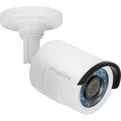 LaView LV-HB732F3TWC 1080P HD Analog Camera with Cable, White