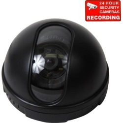 VideoSecu Dome Indoor Security Camera Built-in Sony CCD 480TVL 3.6mm Wide Angle Lens for CCTV Home Surveillance DVR System AC6