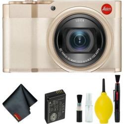 Leica C-Lux Digital Camera (Light Gold) Basic Kit