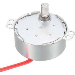 Metal Gear Synchronous Synchron Motor AC 12V 5-6RPM 50-60Hz CCW/CW 4W for Microwave Oven