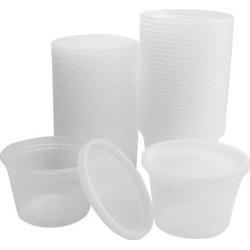 30pcs 16oz Plastic Food Storage Meal Prep Soup Containers Box with Lids Leak Resistant Stackable Reusable Microwave Freezer Safe