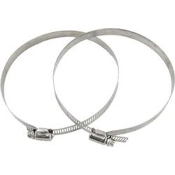 Unique Bargains Adjustable Band Worm Drive Type 130-152mm Hose Clamp