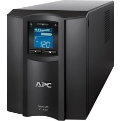 APC SMC1500C 1440 VA 900 Watts 8 Outlets Pure Sinewave Smart-UPS with Smart Connect (Replaces SMC1500)