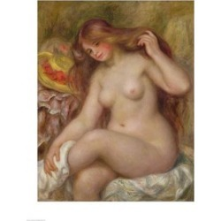 Posterazzi BALBAL72604LARGE Bather C.1903 Poster Print by Pierre-Auguste Renoir - 24 x 36 in. - Large