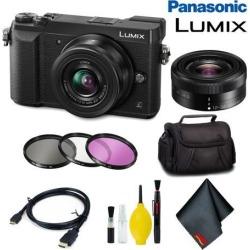 Panasonic Lumix DMC-GX85 Mirrorless Micro Four Thirds Digital Camera with 12-32mm Lens (Black) Basic Bundle