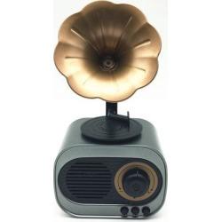 DOBACNER Bluetooth speaker retro wholesale card radio voice wireless smart speaker