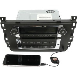 Recertified - 2007-2009 Cadillac DTS SRX AM FM Stereo CD Player Auxiliary 25808216 US8 U2R found on Bargain Bro Philippines from Newegg Business for $165.00