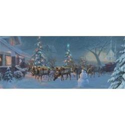 Christmas Travelers 1 Poster Print by David Rottinghaus (23 x 10)