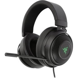 Razer Kraken 7.1 Chroma V2 USB Gaming Headset - Oval Ear Cushions - 7.1 Surround Sound with Retractable Digital Microphone and Chroma Lighting