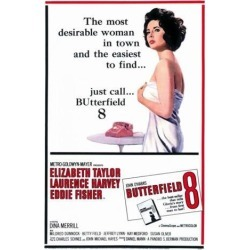 Posterazzi MOVCF3188 Butterfield 8 Movie Poster - 27 x 40 in. found on Bargain Bro India from Newegg Canada for $45.52