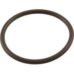 Unique Bargains Coffee Color Fluorine Rubber O Ring Grommets 46mm x 40mm x 3mm
