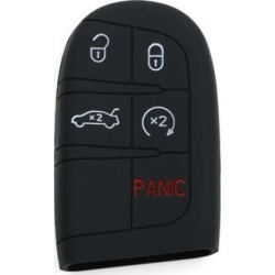 Black Silicone 5 Button Keyless Entry Car Remote Key Fob Case Cover for Chrysler found on Bargain Bro Philippines from Newegg Business for $6.15