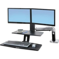Ergotron WorkFit-A Sit-Stand Workstation with Suspended Keyboard - ERG24392026