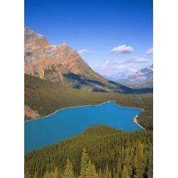Posterazzi DPI1801101 Peyto Lake Banff National Park Alberta Canada Poster Print by Carson Ganci, 12 x 16