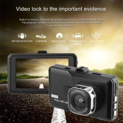 Car Styling 3.0 inch LCD Dash Camera Video DVR Recorder Full 1080P HD G-Sensor Motion Detector Cycle Recording found on Bargain Bro India from Newegg Canada for $33.78