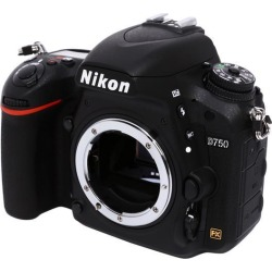 Nikon D750 1543 Black Digital SLR Camera - Body