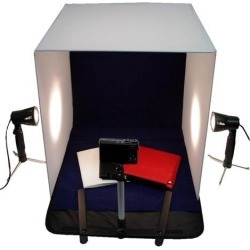 20' Photography Photo Studio Cube Tent Light Box + 50W Lighting Stand Kit 50cm