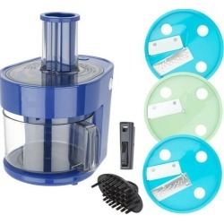 Dash K47971 Series 7-in-1 Food Processor Prep Master, Blue