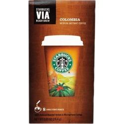 Starbucks 11019881 VIA Ready Brew Colombia Coffee