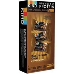 Breakfast Protein Bars, Dark Chocolate Cocoa, 50 g Box, 8/Pack 25954