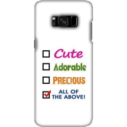 Premium Designer Stylish Printed Graphic Handcrafted Lightweight Snap On Shockproof Hard Shell Back Cover Carrying Case for Samsung Galaxy S8