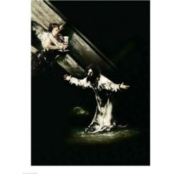 Posterazzi BALXIR59930LARGE Christ on The Mount of Olives 1819 Poster Print by Francisco De Goya - 24 x 36 in. - Large