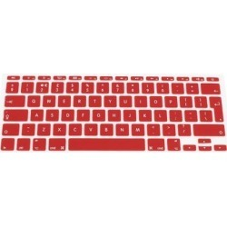 Unique Bargains UK EU Layout Silicone Protective Keyboard Cover Film Red for MacBook Pro 11 found on Bargain Bro Philippines from Newegg Business for $9.50