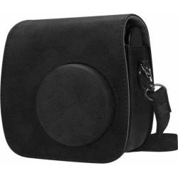 For Polaroid PIC-300/Fujifilm Instax Mini 7s Camera Case Bag Cover - Black