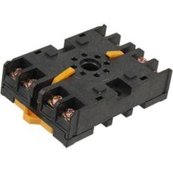 Unique Bargains P2CF-08 AC 250V 10A Screw Terminal 8 Pin Plug In Power Relay Socket