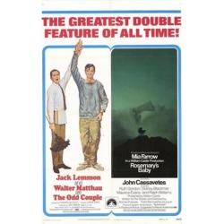 Posterazzi MOVGH0285 The Odd Couple & Rosemarys Baby Movie Poster - 27 x 40 in. found on Bargain Bro Philippines from Newegg Canada for $42.58