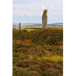 Posterazzi DPI12254526 Ring of Brodgar - Orkney Scotland Poster Print - 12 x 19 in.