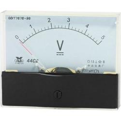 Analog Panel Voltmeter DC 0 - 5V Measuring Range 1.5 Accuracy 44C2