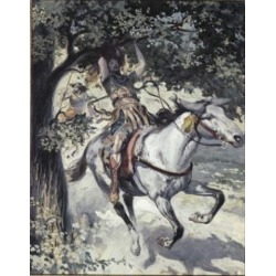 Posterazzi SAL999271 Absalom Hanging on the Oak Tree James Tissot 1836-1902 French Jewish Museum New York USA Poster Print - 18 x 24 in.