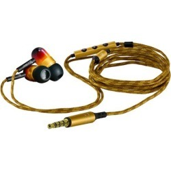 Woodees IESW100V Inner Ear Wintage Stereo Earphone with Microphone