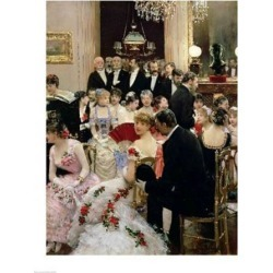 Posterazzi BALXIR28157LARGE The Soiree Poster Print by Jean Beraud - 24 x 36 in. - Large