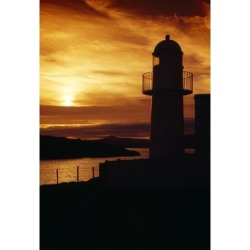Posterazzi DPI1820909 Dingle Lighthouse Dingle Peninsula County Kerry Ireland - Lighthouse At Sunset Poster Print by Richard Cummins, 12 x 18 found on Bargain Bro Philippines from Newegg Canada for $34.63