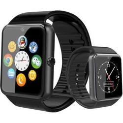 Touch Screen Bluetooth Smart Watch Fitness Activity Tracker Smartband Heart Rate Telemeter Calorie Counter Sleep Monitor Black