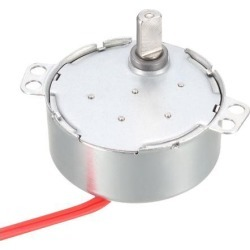 Metal Gear Synchronous Synchron Motor AC 12V 0.8-1RPM 50-60Hz CCW/CW 4W for Microwave Oven