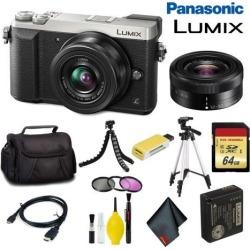 Panasonic Lumix DMC-GX85 Mirrorless Micro Four Thirds Digital Camera with 12-32mm Lens (Silver) Master Bundle