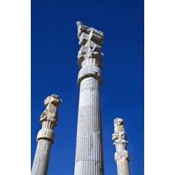 Posterazzi DPI1893406 Columns of Xerxes Gateway Against Clear Sky Poster Print, 12 x 19