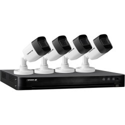 Defender Ultra HD 4K (8MP) Security Cameras System with 4 Ch. DVR w/ 1TB HDD and 4x 4K Resolution Night Vision Outdoor Cameras