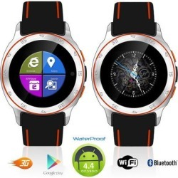 Indigi® Android 4.4 Waterproof Smart Watch (3G+WiFi) Google Play Unlocked AT & T T-mobile