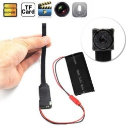 Spy Camera Wireless Wifi IP Hidden DIY Digital Video Camera Mini Micro DVR DV, Black
