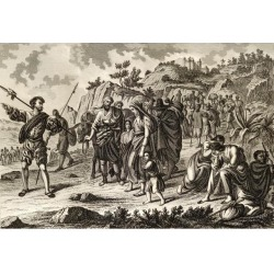 Posterazzi DPI1860018 Expulsion of The Moors in Spain 1610 Poster Print, 18 x 12