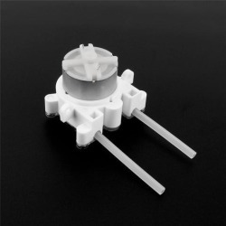 6V DC DIY Dosing pump Peristaltic Dosing Head For Aquarium Lab Analytical Water with Water Pipe