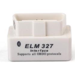 SUPER MINI ELM327 Bluetooth OBD2 V1.5 White Smart Car Diagnostic Interface ELM 327 Wireless Scan Tool