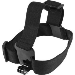 Black Elastic Head Strap Mount Belt w Carrying Bag for GoPro Hero 2 3