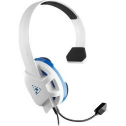 Turtle Beach Recon Chat Gaming Headset for PS4 Pro/PS4 - White